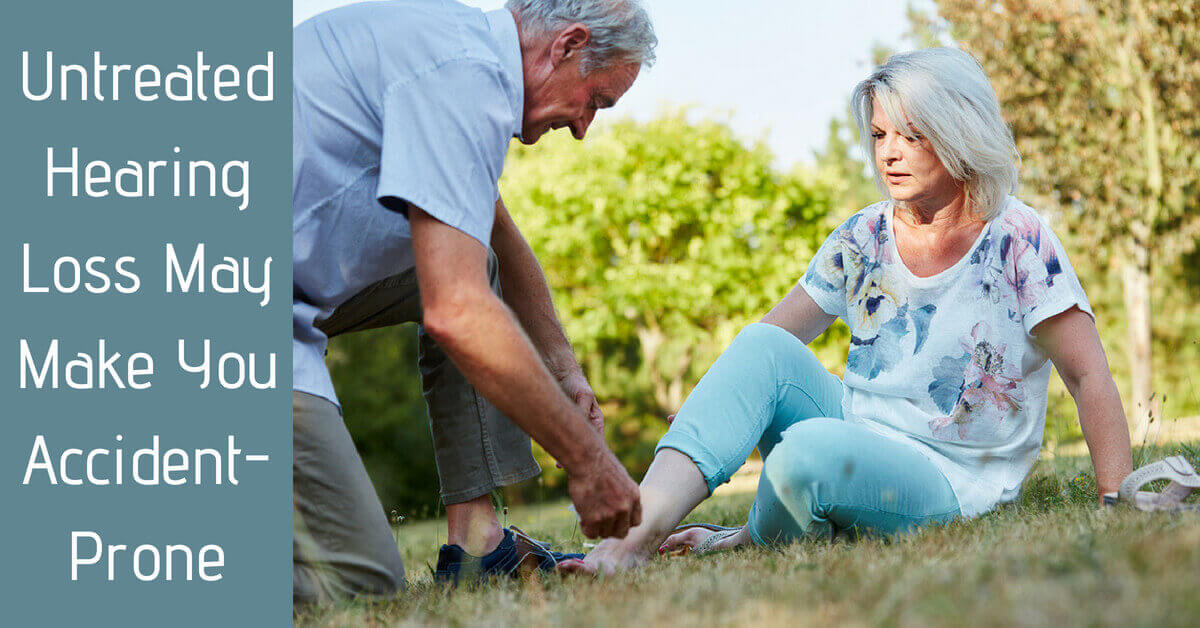 Untreated Hearing Loss May Make You Accident-Prone